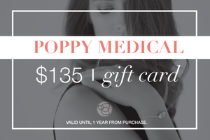 Poppy Medical Gift Card - $135
