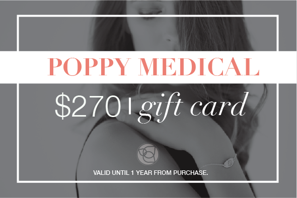 Poppy Medical Gift Card - $270