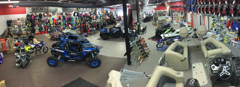 J & B Cycle & Marine Indoor Showroom