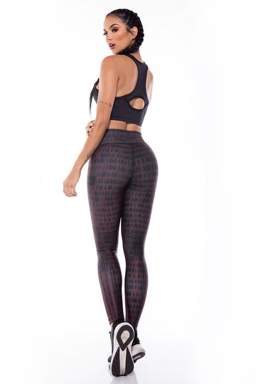 Legging Sport I Legging Fitness I Legging Crossfit  - Nine Coof Back