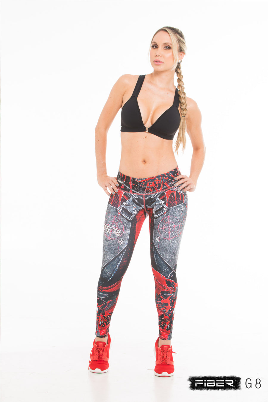 Fiber Legging -  Injustice Deadshot Front