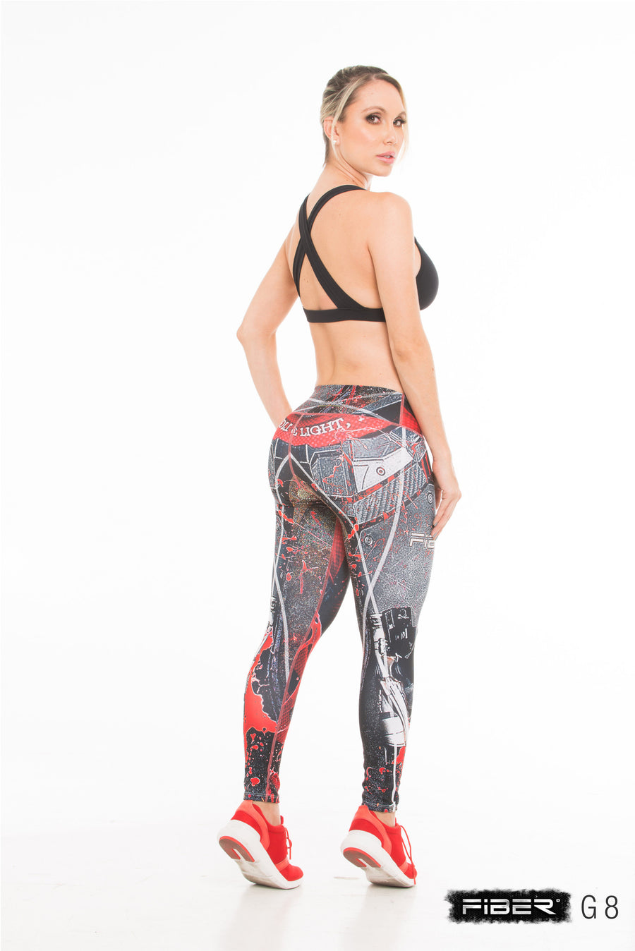 Fiber Legging -  Injustice Deadshot Back