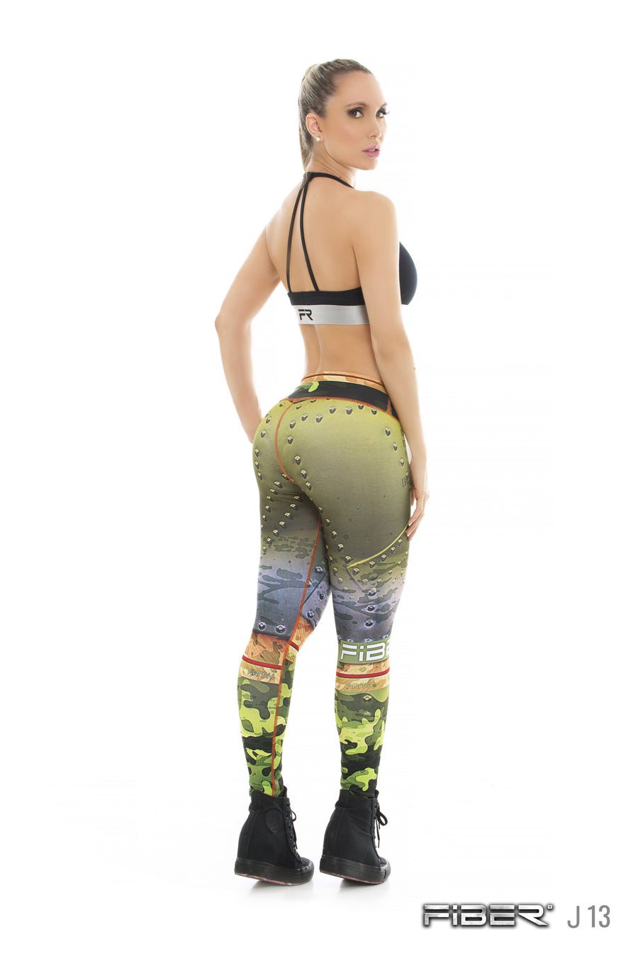 Fiber Legging - IRON 13 Back