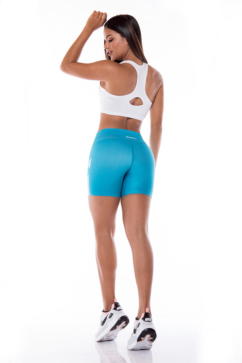 Short Sport Femme  I Fitness  I CrossFit Drakon - MINT Back