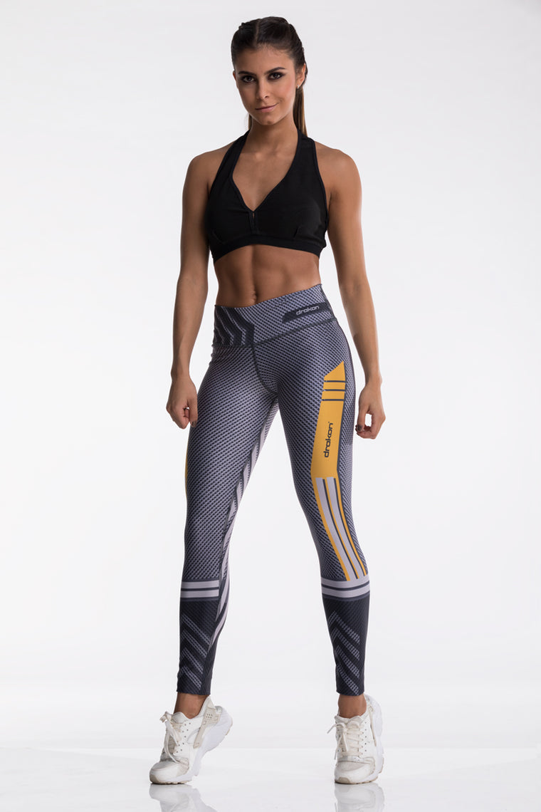 Legging Fitness I Crossfit DRAKON  - Naked Y