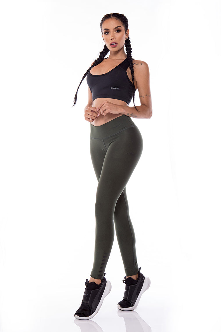 Legging Sport Femme  I Fitness I Crossfit DRAKON  - Basic Colors Olivia