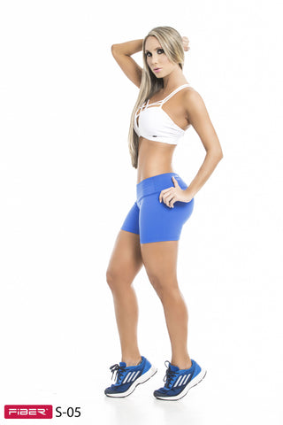 Short Fitness I CrossFit FIBER -  Unicolor 05 Side