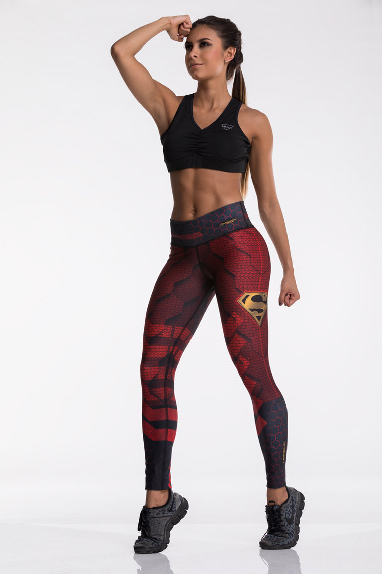 Legging Fitness I Crossfit DRAKON  Heros - Superman