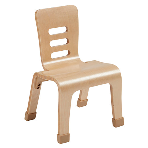 10inch Bentwood Chair, Natural, 2-Pack (MS)