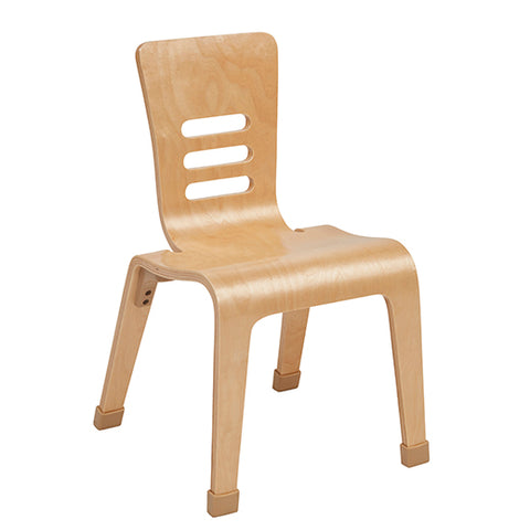 16inch Bentwood Chair, Natural, 2-pack (MS)