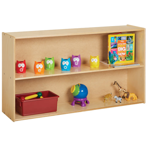 Jonti-Craft Young Time® Straight Shelf Storage - RTA 7025YR441 (MS)