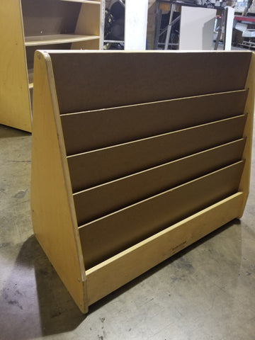 Book Rack Display,Double Sided, Wooden, (SAI)(WPO)
