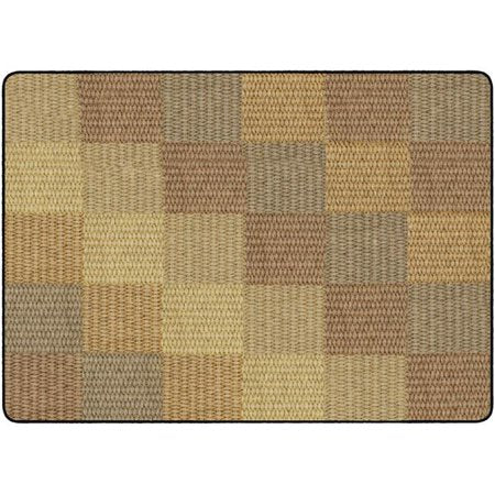 Basket Weave Block Rug 6' x 8'4 (MS)