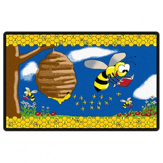 Busy Bee Rug 7'6 x 12' (MS)