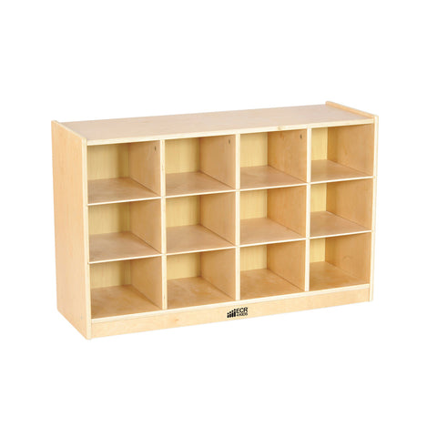 12 Cubby Tray Cabinet (MS)