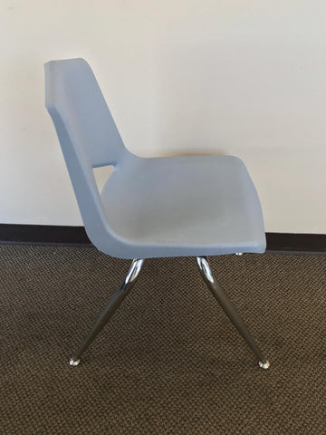 "18"" Student Stack Chair - Grey (RF)"