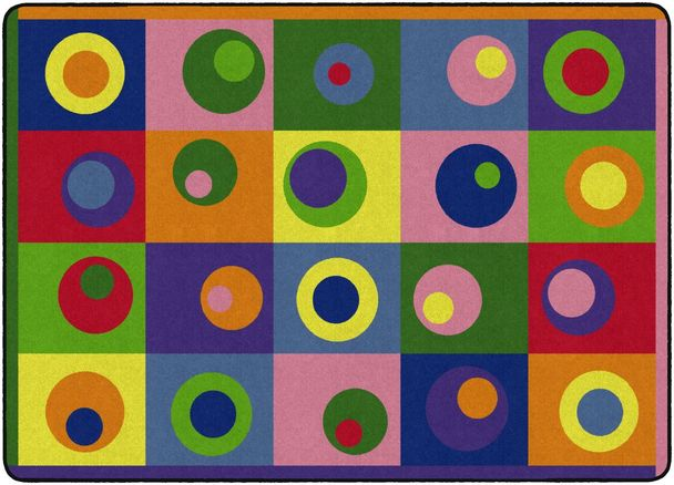 Silly Circles Rug 5'10 x 8'4 (MS)