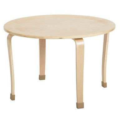 30in Round Bentwood Activity Table, Natural (MS)