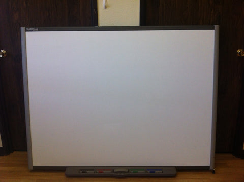 SMART Board 660 Interactive Whiteboard (Includes 4 Pens, 1 Pen Tray, 1 Power Cord, 1 Eraser) (RF)