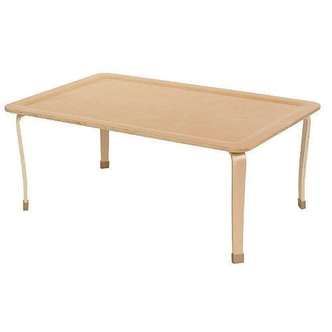 "30"" x 48"" Rectangle Bentwood Activity Table, Natural (MS)"