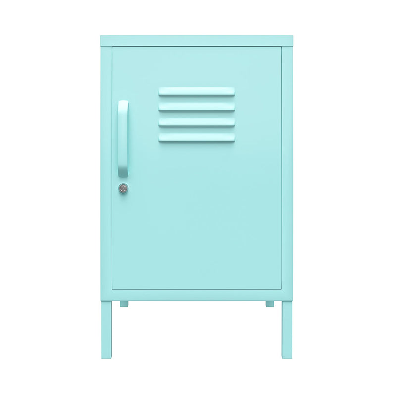 Cache Metal Locker End Table