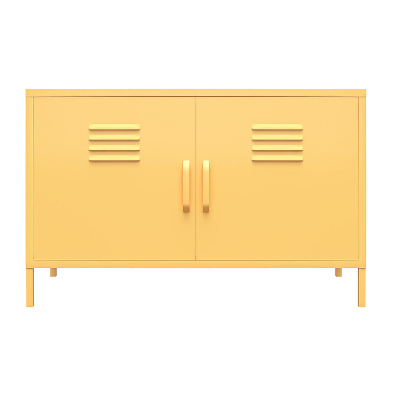 Cache Metal Locker Accent Cabinet