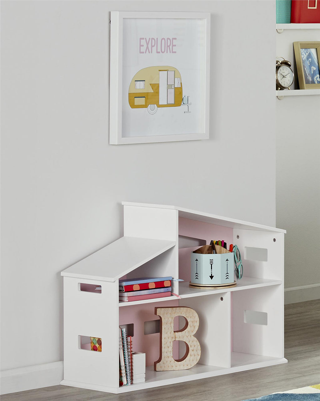 Addison Dollhouse Bookcase