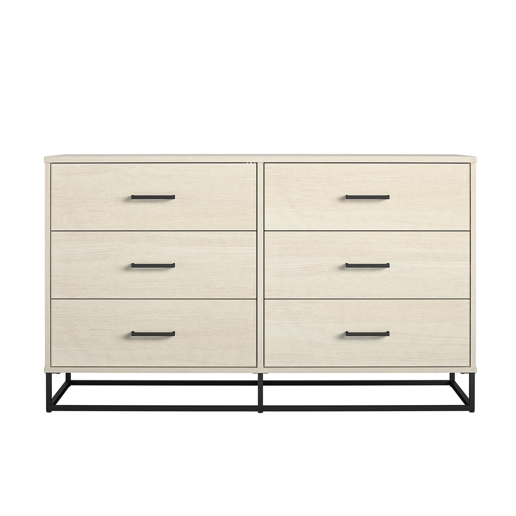 Kelly 6 Drawer Dresser