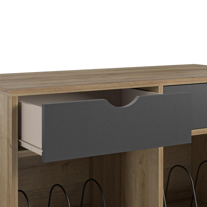 Concord Turntable Stand with Drawers - Exclusive