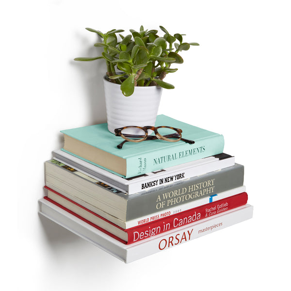 Conceal Large Shelves - Silver (Set of 3)