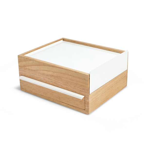 Stowit Storage Box - White/Natural