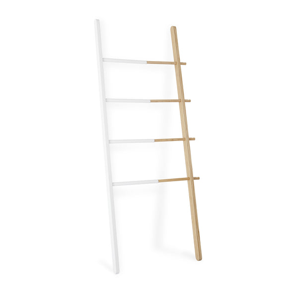 Hub Ladder - White/Natural