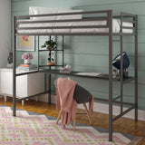 Maxwell Loft Bed with Desk