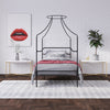 Camilla Metal Canopy Bed
