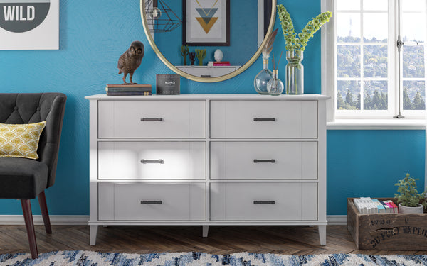 Hazelridge 6 Drawer Dresser