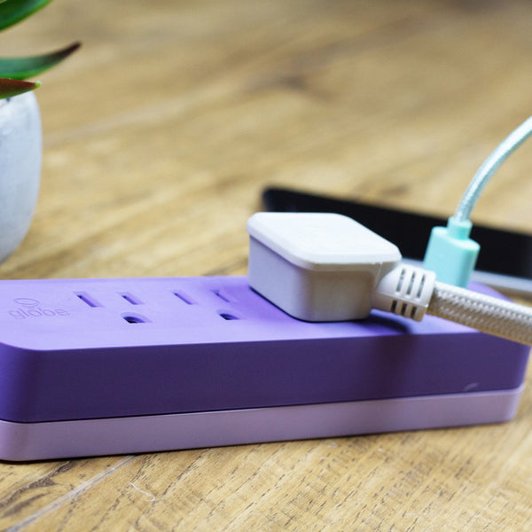 Designer Series Power Strip - Lavender