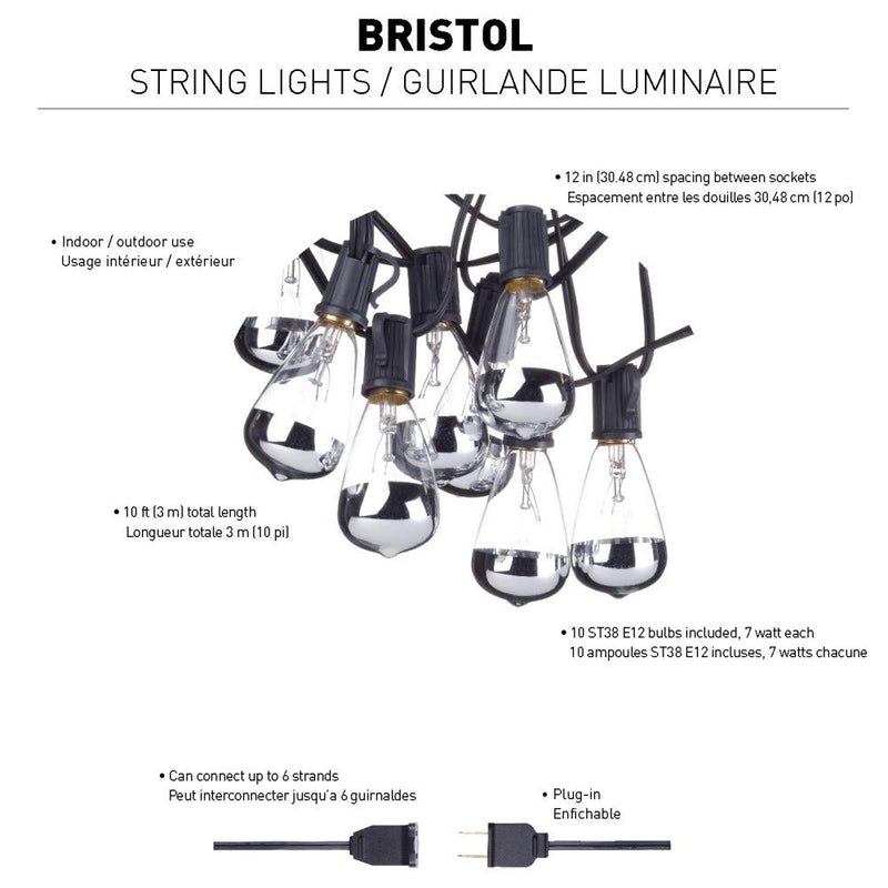 Bristol 10' String Light