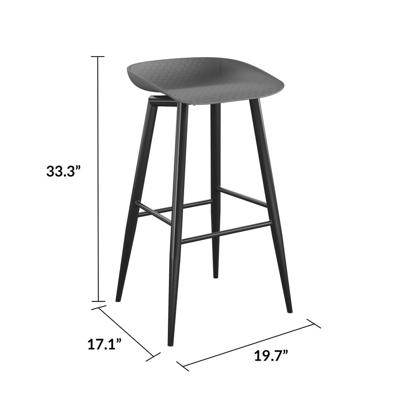 Riley Indoor/Outdoor Bar Stools (Set of 2)