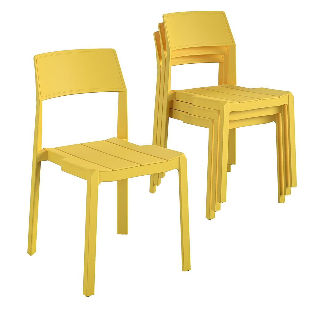 Chandler Stacking Dining Chairs (Set of 4)