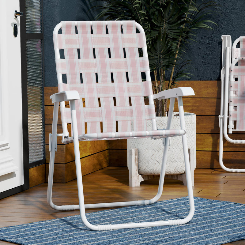 Novogratz xo SJP: Priscilla Folding Chair (Set of 2)