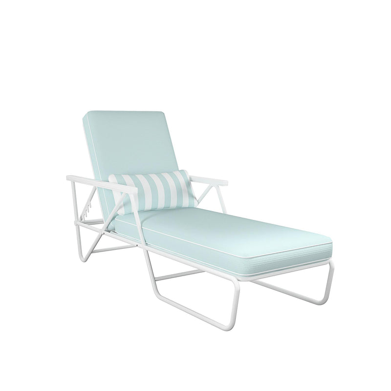 Novogratz xo SJP Collection: Connie Outdoor Chaise Lounge