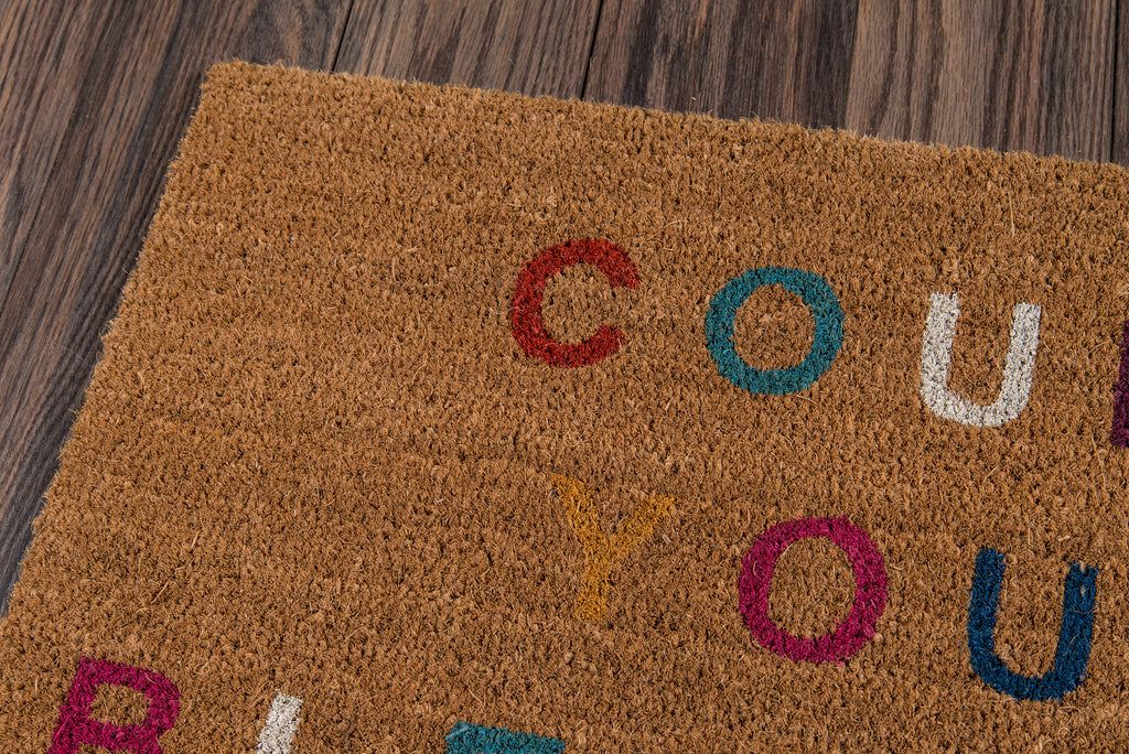 Count Your Blessings Doormat - Multicolored