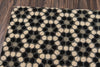 Black Hex Tile Doormat