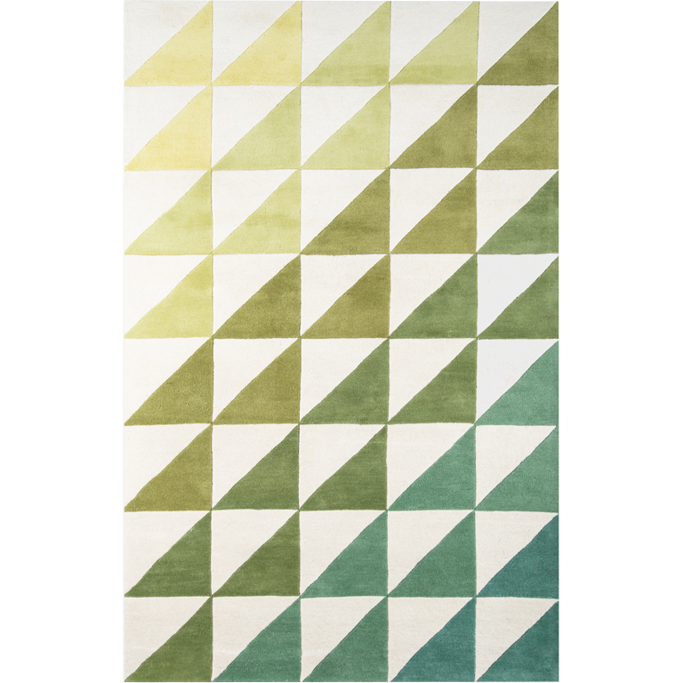Agatha Side Rug - Green