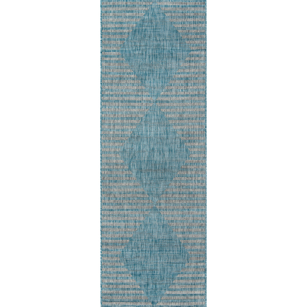 Cavallo Indoor/Outdoor Rug - Aqua