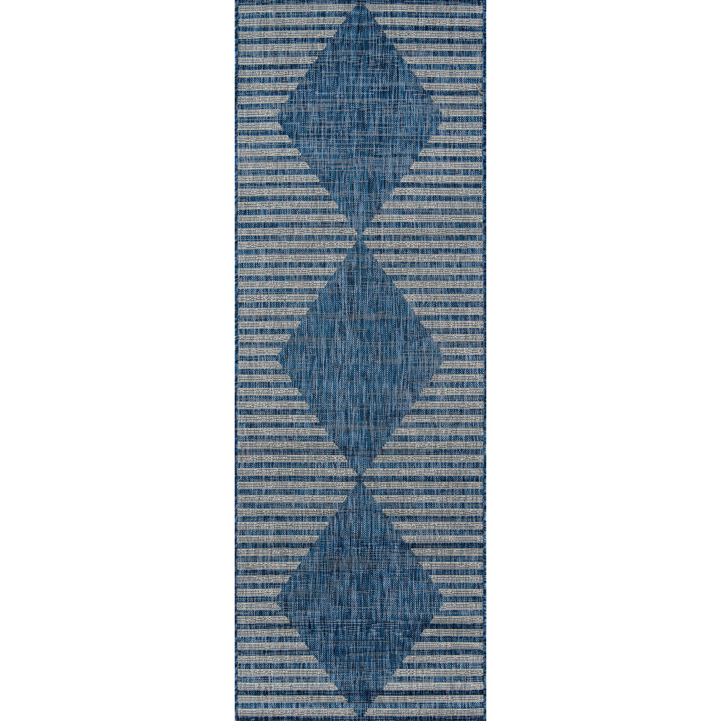 Cavallo Indoor/Outdoor Rug - Blue