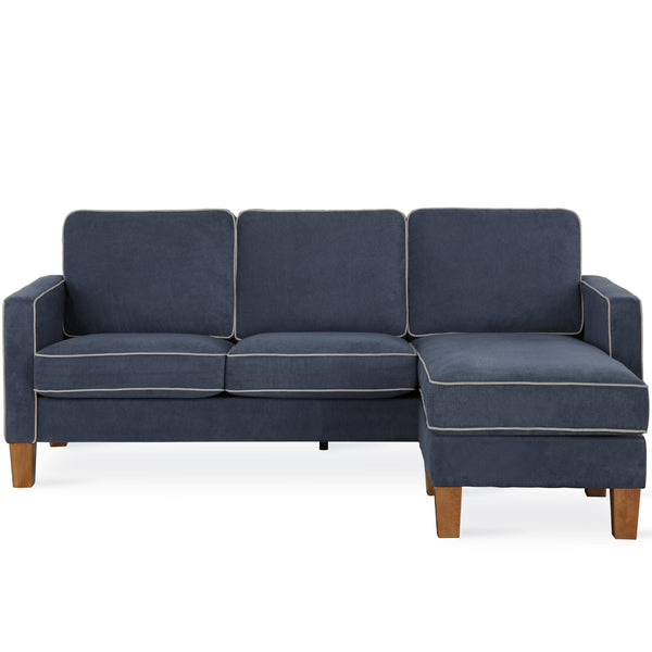 Bowen Sectional Sofa with Contrast Piping