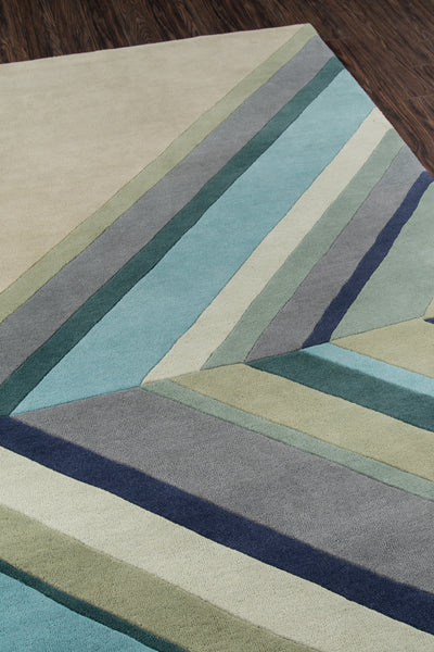 Ultralight Blue Rug