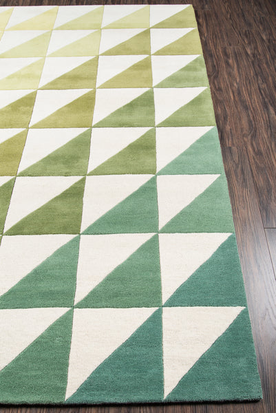 Agatha Side Green Rug