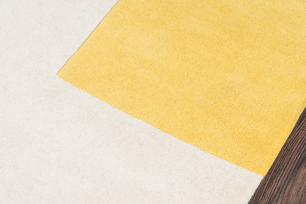 Chevalier Rug - Yellow